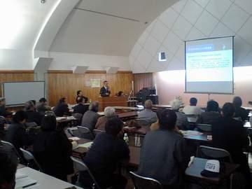 ツルネンマルテイ参議院議員による有機農業推進法に関する講演会in合志市農業公園